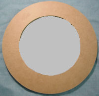 The shell store craft supplies wholesale mirrors for Small round craft mirrors